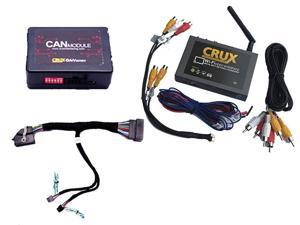 Crux Wi-Fi Audio #47; Video Interface for 2013-15 Ford  F-Series