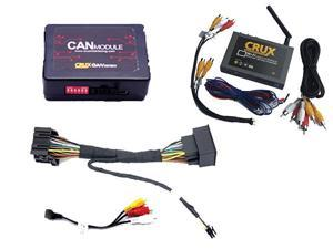 Crux Wi-Fi Audio #47; Video Interface for Select GM  #47; Chevrolet LAN 29 Bit Vehicles
