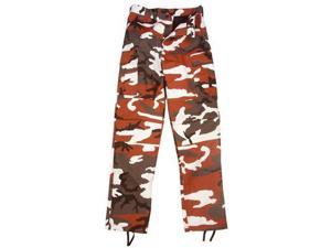 Ultra Force Red Camouflage BDU Pants