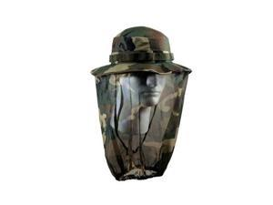 Ultra Force Camo Boonie Hat with Mosquito Net