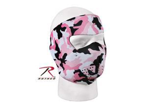 Rothco Reversible Facemask in Pink / Black Camouflage