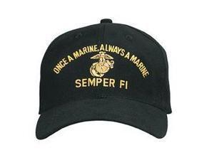 Semper Fi Hat - Once A Marine, Always A Marine Baseball Cap