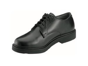 Black Soft Sole Military Uniform Oxford Shoes