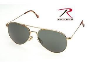 Rothco AO General Polarized Sunglasses in Gold CE - 58 MM