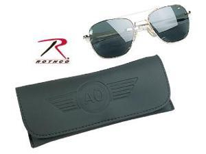 Rothco AO Original Pilot Polarized Sunglasses, 55 MM