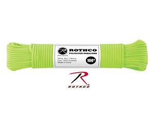 Rothco Polyester Paracord, 100 Feet