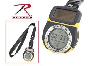 Solar Powdered Multi Function Digital Compass