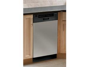 Frigidaire FFBD1821MS 18 Full Console Dishwasher, Stainless Steel.