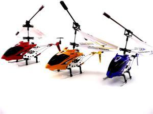 GIFT SET: 3 Syma S107G Helicopters! 1 BLUE 1 RED 1 YELLOW! Shipping USA SH.S107G.B.R.Y.