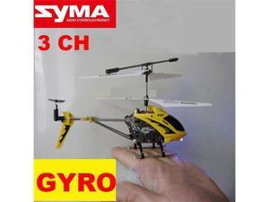 Syma S107 Metal 3 Ch RC Radio Control Gyro Gyroscope Helicopter With Flashlights