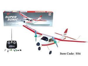 Light Frame Super Sonic Twin Motors Remote Control Airplane