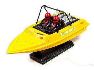 Yellow Aeroboat Water Jet 16'' Electric Speed Boat RTR by NQD