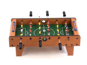 "27"" Miniature Wooden Foosball Game Table"