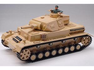 DAK Pz.Kpfw.IV Ausf.F-1 1/16 Scale Radio Remote Control Air Soft BB Bullet Battle RC Tank