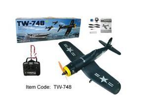 4 Channel Radio Control Electric RC Airplane F4U Corsair RTF TW-748