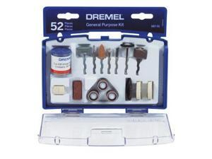 Dremel 687-01 52 Piece Set General Purpose Bits