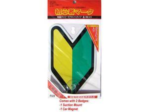 JDM Student Driver Badges Set of 2
