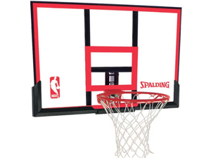 "Spalding 79354 Basketball Backboard and Rim Combo with 48"" Backboard"