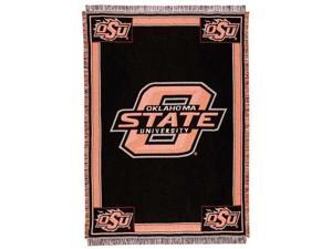 "Oklahoma State Cowboys Afghan Throw Blanket 50"" x 70"""