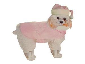 Pink Christmas Santa Suit for Dogs Cats or Other Pet Size Med 30-40 lb #C3437 MD