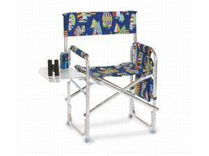 Portable Lightweight Aluminum Frame Boat Theme Sporting Event Chair - Regatta