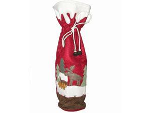 "17"" Moose Lodge Wine Bottle Gift Bag"