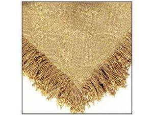 "50"" x 60"" Gold Homestead Afghan Throw Blanket"