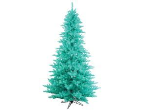 10' Pre-Lit Aqua Blue Fir Artificial Christmas Tree - Aqua Lights