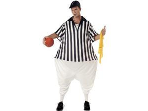 Referee Adult Plus Costume