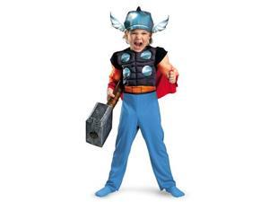 Toddler Muscle Marvel Thor Costume
