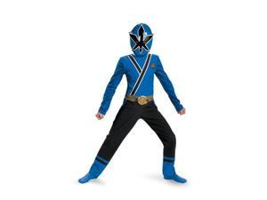 Boys Classic Blue Power Ranger Samurai Costume