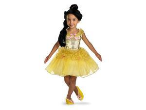 Disney Princess Belle Ballerina Classic Toddler Costume 3T-4T