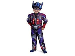 Transformers 3 Dark of the Moon Movie - Optimus Prime Muscle Toddler / Child Costume