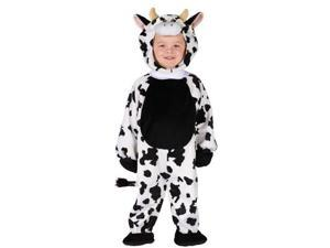 Cuddly Cow Toddler Costume 3T-4T