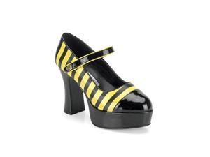 Sexy Bee Stinger Adult Platform Mary Jane Shoes Size:10
