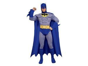 Batman Deluxe Muscle Chest Batman Adult Costume Small