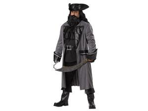 Mens Plus Size Blackbeard Costume