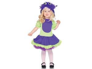 Cuddle Monster Toddler Costume Size:XXS-2T-3T