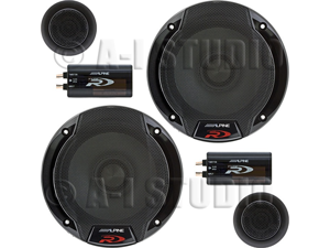 "Alpine SPR-50C 5-¼"" 2-way Car Speaker System"