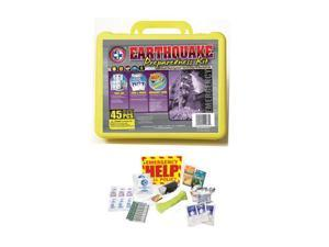 Total Resources International Earthquake Preparedness Kit (45 Pieces)