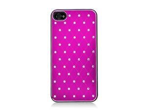 Apple iPhone 4/4S Sparkling Aluminum Plated Rear Designer Case
