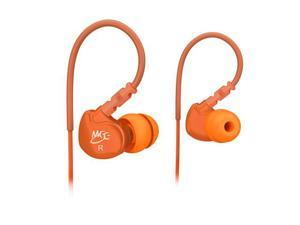 MEElectronics Orange 736211200761 M6 noise isolating sports earphone