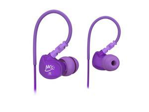 MEElectronics Purple 736211200969 M6 noise isolating sports earphone