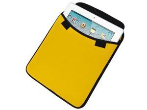 Apple iPad 2 Premium Soft Carrying Sleeve (Yellow) with FREE Screen Protector