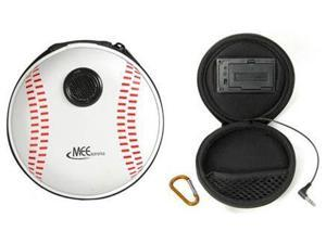 MEElectronics MP3 and iPod Portable Speaker Carrying Case - Baseball