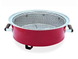 Barbecue Charcoal Go Grill in Red