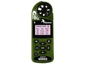 Kestrel 0845HBOLV Pocket Weather Tracker with Horus ATrag Ballistics and Bluetooth in Olive Drab