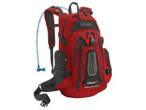 Camelbak 61500 H.A.W.G. NV Hydration Pack, 100 oz, Chili Pepper/Charcoal