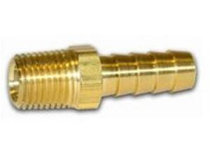 "Legacy A1440-X 1/4"" Brass Male Hose Barb Fitting"