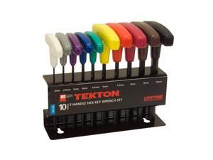 Tekton 2547 10-pc. T-Handle Hex Key Wrench Set (MM)